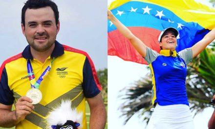 Colombia y Venezuela con el oro del golf de Barranquilla 2018