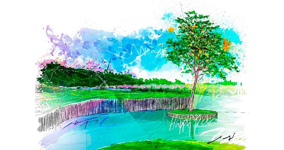 El arte en el golf y su naturaleza