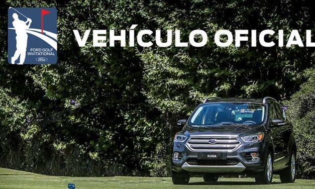 El Kuga es el Vehículo Oficial del Ford Golf Iinvitational 2018