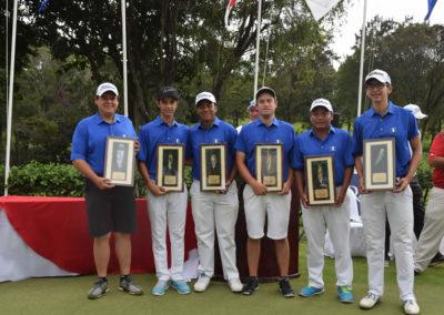 Raul Bonilla, Miguel Leal, Pablo Castellanos, Daniel Gurtner, Jorge Meléndez, Juan Ricardo Dávila
