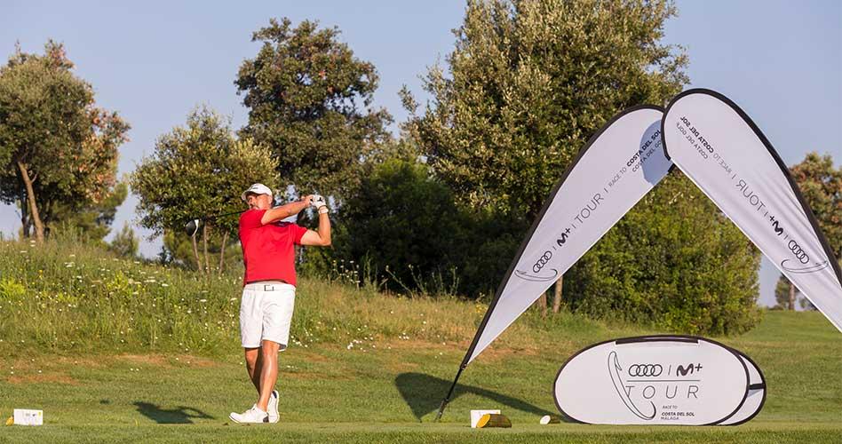 Golf en estado puro en la cita del Prat del Audi Movistar+ Tour Race To Costa del Sol