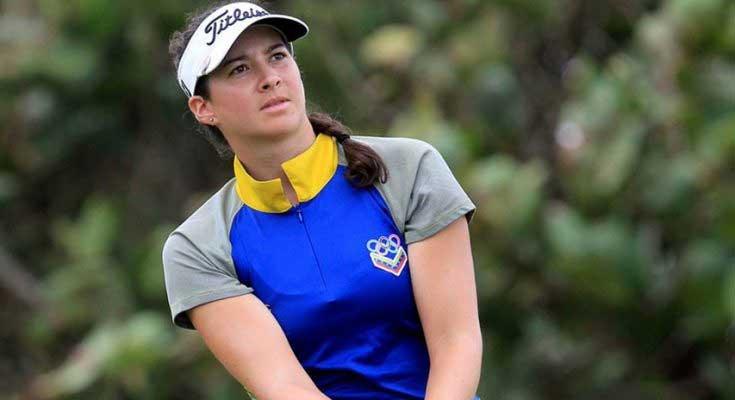 Golfista Alazne Urizar aseguró cupo en Panamericanos de Lima