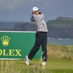 José Luis Ballester, subcampeón del British Boys de golf