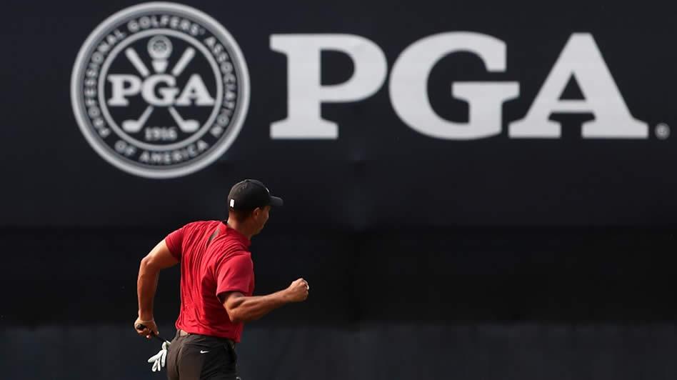 Woods impuso el ritmo de juego