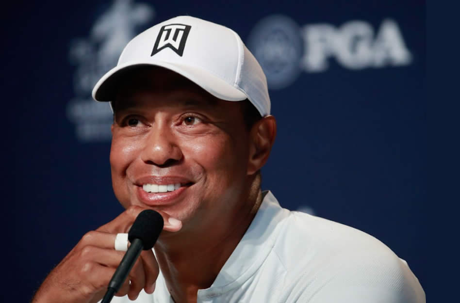 Tiger en el driver seat de la historia