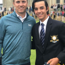 Leal distinguido en el Junior Open