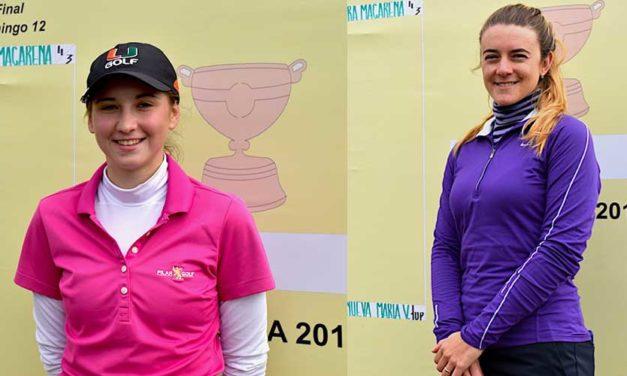 María Victoria Villanueva y Macarena Aguilera en la Final