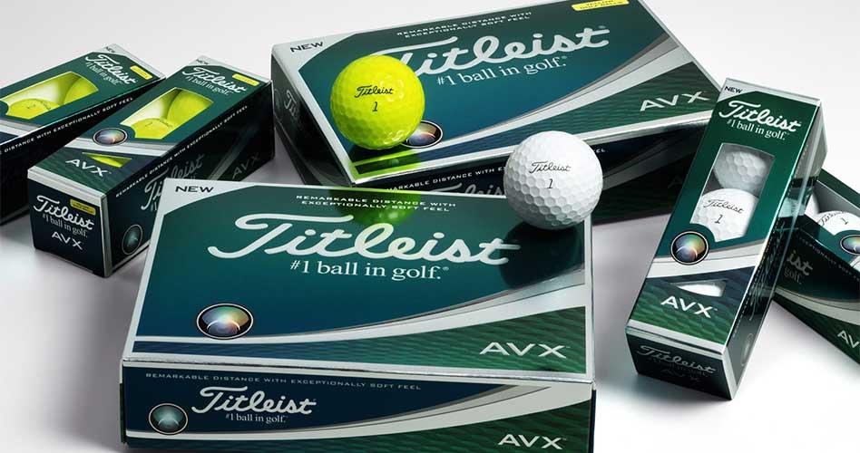 Titleist presenta las nuevas pelotas de golf AVX