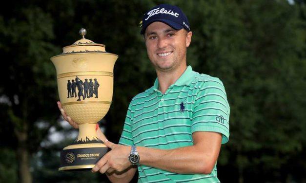 Triunfo de Justin Thomas en el World Golf Championships-Bridgestone Invitational