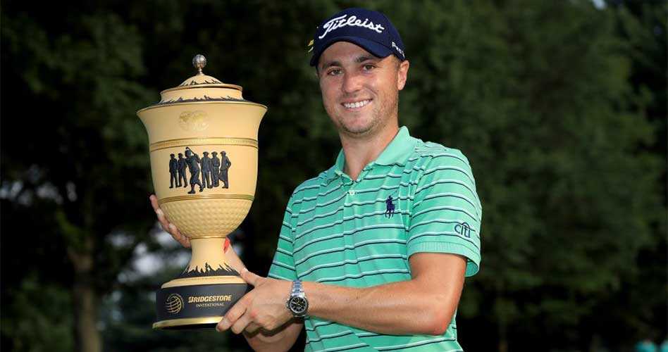 Triunfo de Justin Thomas en el World Golf Championships-Bridgestone Invitational