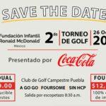2do. Torneo de Golf en Puebla – Fundación Infantil Ronald McDonald