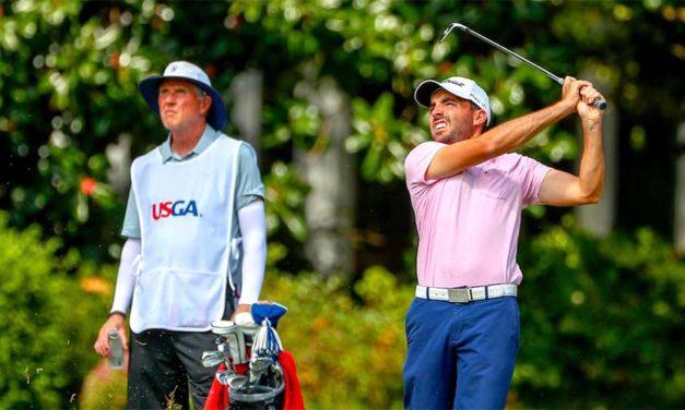 Andy Schönbaum llegó a Cuartos de Final en el US Mid-Amateur Championship