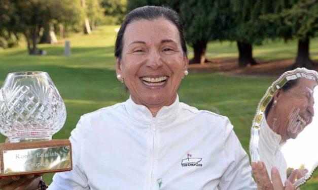 Arenas de Guatemala se apoderó del Irish Senior Women's Open