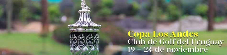 Copa Los Andes. Club de Golf del Uruguay, 19 - 24 de noviembre