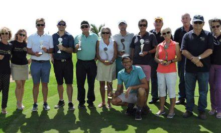 El golf de Lanzarote recauda fondos en el II Torneo Benéfico Rotary