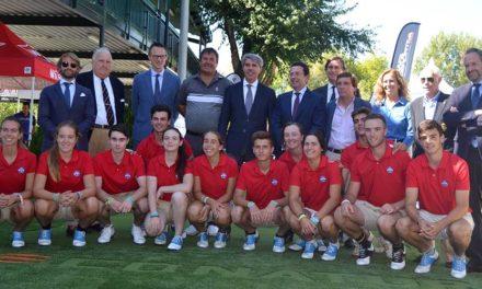 El presidente de la Comunidad de Madrid inaugura la 'Mutuactivos MadridGolf 2018' en el Club Deportivo Somontes