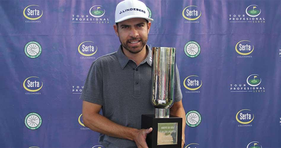 En un emocionante final, Manuel Villegas se consagró campeón del Abierto de Los Lagartos