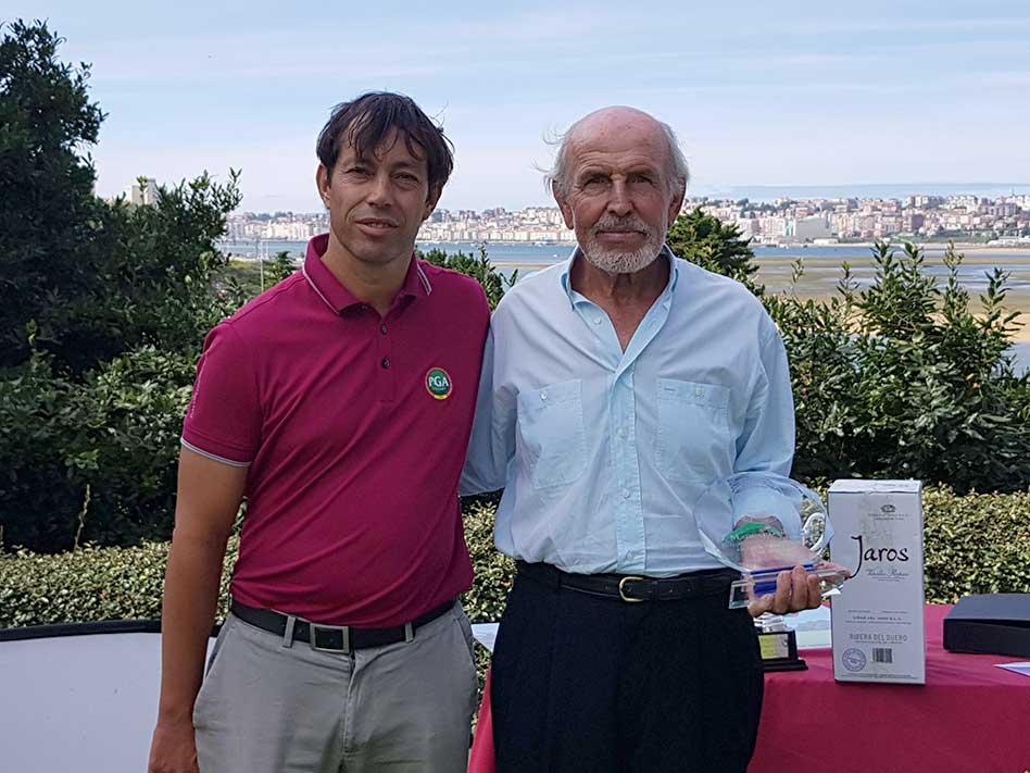 Juan Sarasti, 'vidi, vini vinci' en Pedreña