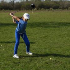 Los chicos de Concordia GC juegan golf y se divierten