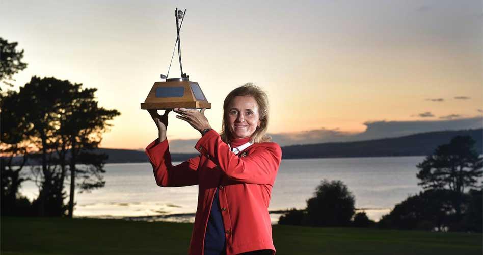 Macarena Campomanes defiende en el British Senior Ladies su histórico triunfo de 2017