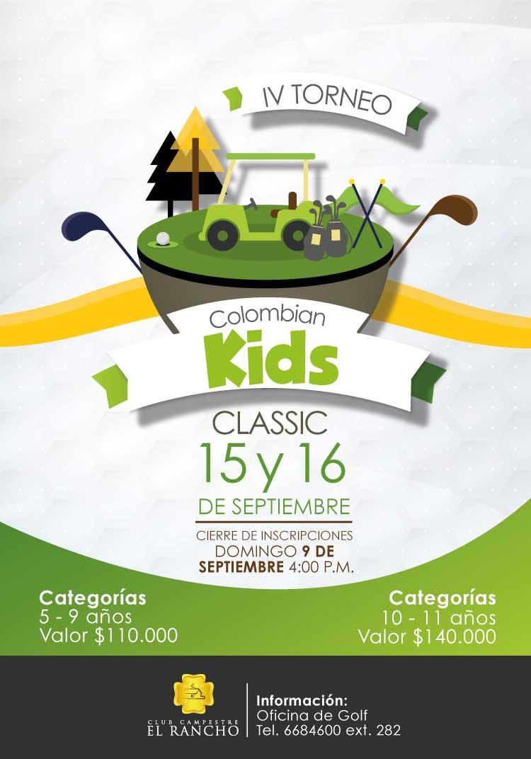 Manténgase al tanto del V Torneo Aficionado de El Rancho y el IV Colombian Kids