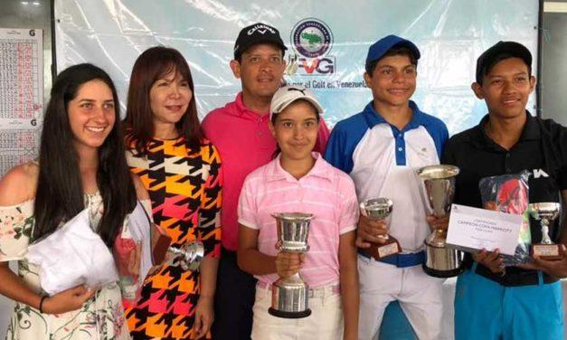 Maracay celebró con éxito el Campeonato Nacional Infantil de Golf