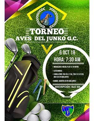 Torneo Aves del Junko G.C. 6 de octubre