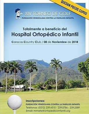 XIV Torneo de Golf Fundación Venezolana contra la Parálisis Infantil, 4 de Octubre, Caracas Country Club