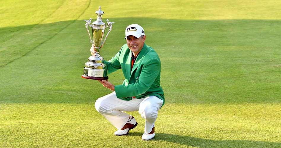 Adilson Da Silva levanta su primer título en el Asian Tour y sube más de 150 lugares en el ranking mundial