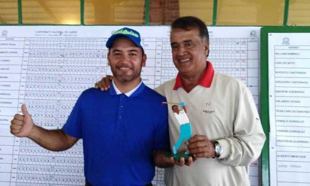 Alexis Medina Campeón Nacional de Caddies