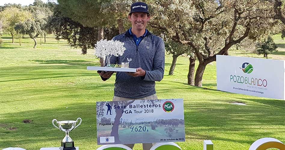 Alfredo García Heredia se proclama ganador del I Campeonato Match-Play PGA de España en Pozoblanco