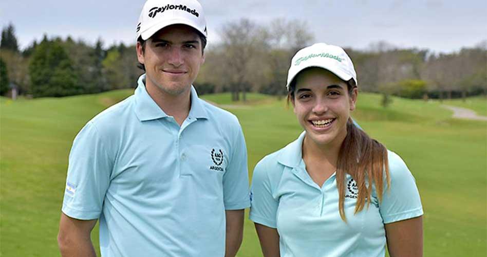 Argentina arrancó décimo en el golf por equipos en los Olímpicos de la Juventud