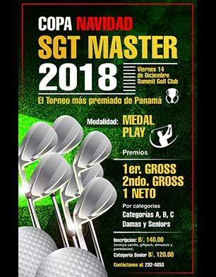 Copa Navidad SGT Master 2018, 14 de diciembre, Summit Golf Club