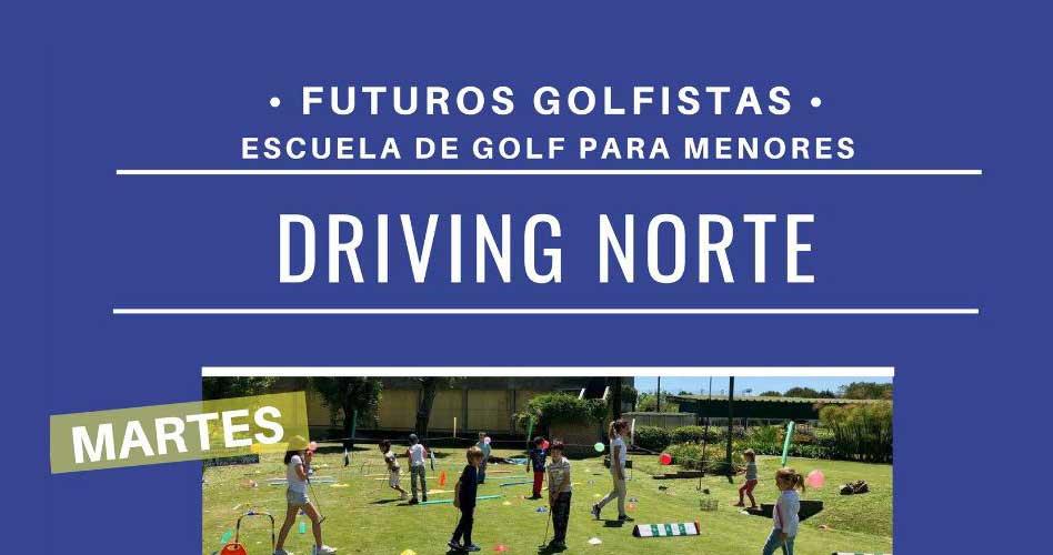 Futuros Golfistas suma un nuevo día a sus clases en Driving Norte