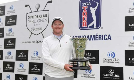 Harry Higgs triunfa en el Diners Club Perú Open
