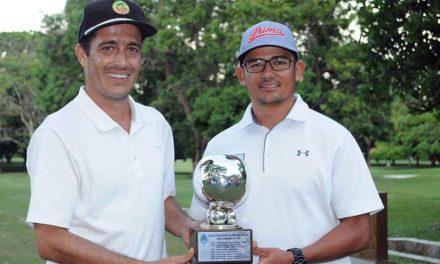 Jonathan Perez, con David Peñalosa, ganaron en el Torneo Aniversario en Cali