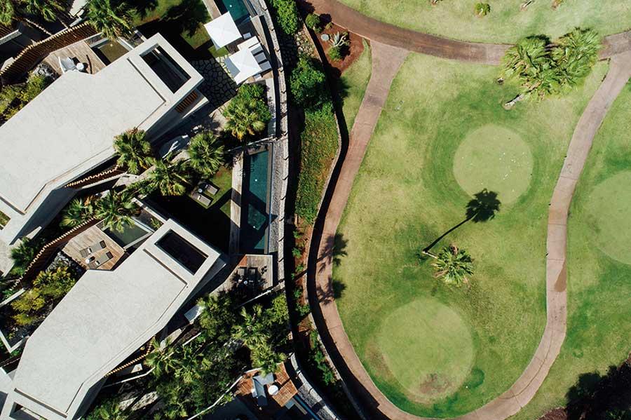 Fotos de las Villas Bellevue, viviendas unifamiliares en Abama Resort. Imágenes cedidas por Abama Luxury Residences