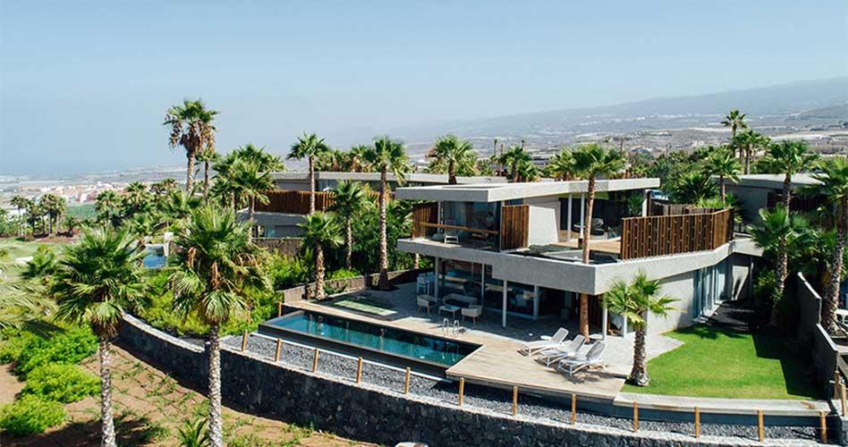Las villas Bellevue, de Abama Resort, premio a la mejor vivienda de la década según los arquitectos de Tenerife