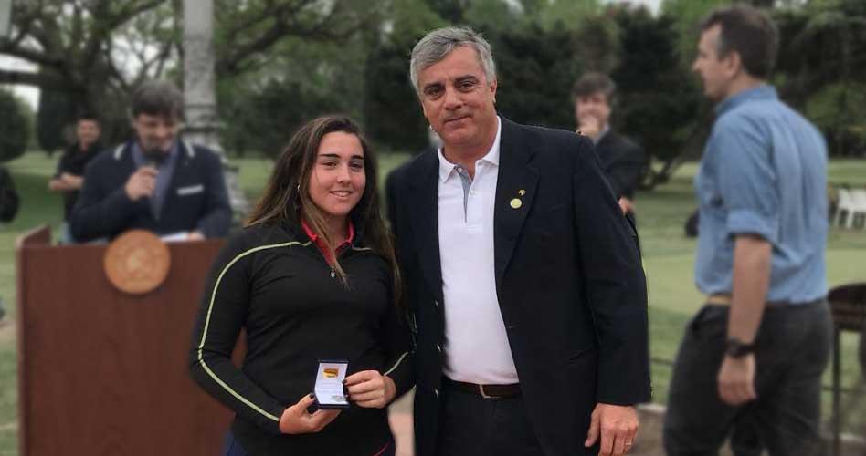 María Victoria Bargo finalizó segunda en Argentina