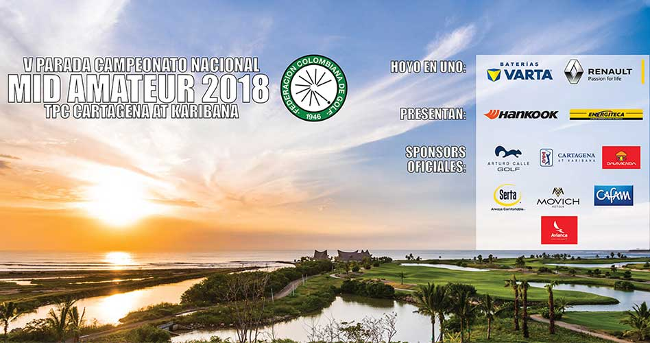 Premiados los mejores del Nacional Mid-Amateur 2018; Israel Bahar, bicampeón