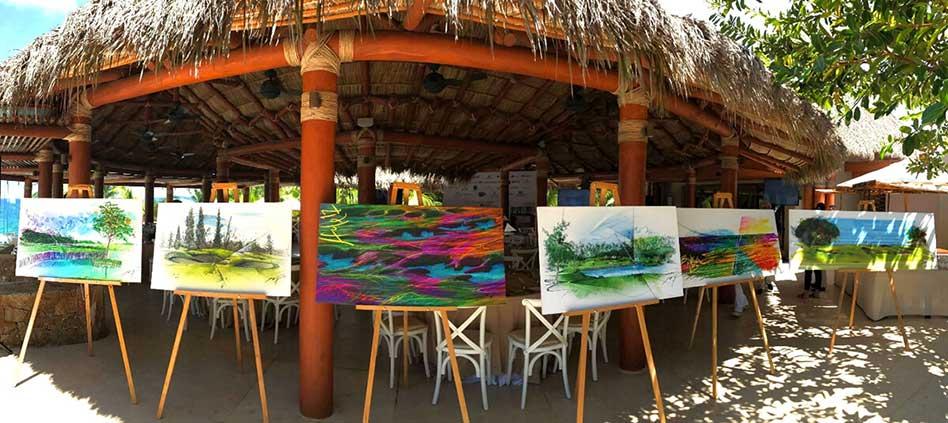 """Primera exhibición de """"Arte sobre Arte"""""""