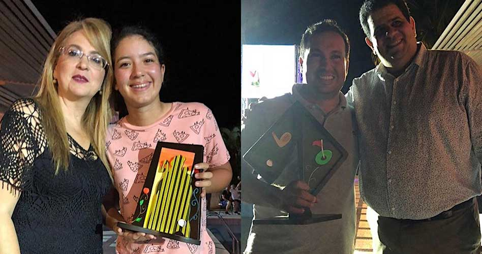Ramírez y Prieto campeones del VIII Abierto Barquisimeto