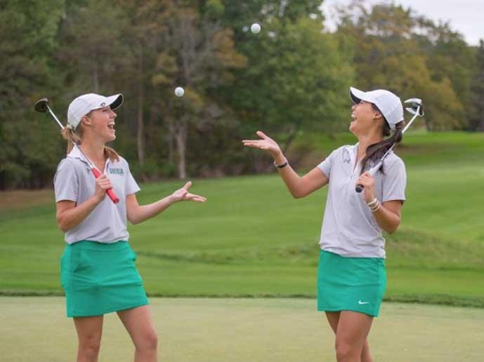 Siena Golf (cortesía sienasaints.com)