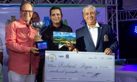 Rojas navegó el Campeonato del V Abierto Valle Arriba