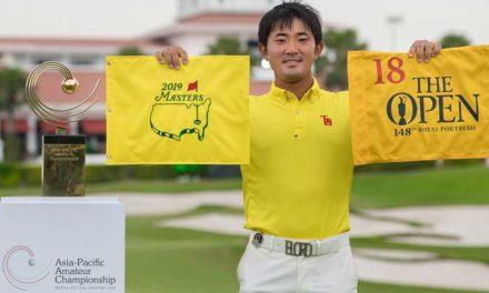 Takumi Kanaya cumple su sueño y se queda con el título del Asia-Pacific Amateur Championship