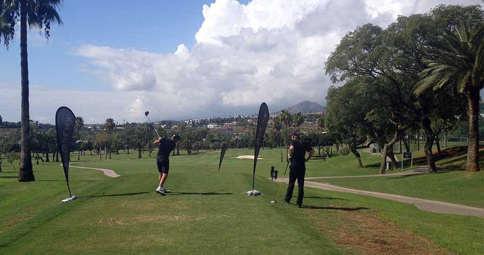 Los participantes disfrutaron de un espléndido día del golf