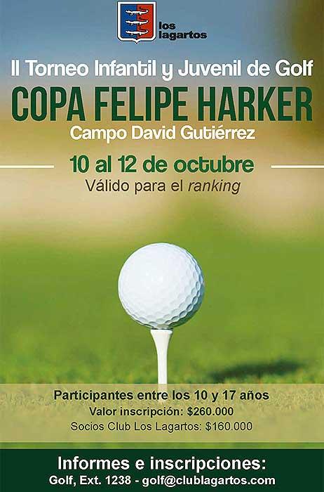 Todo listo para el II Torneo Infantil y Juvenil 'Copa Felipe Harker' desde este miércoles