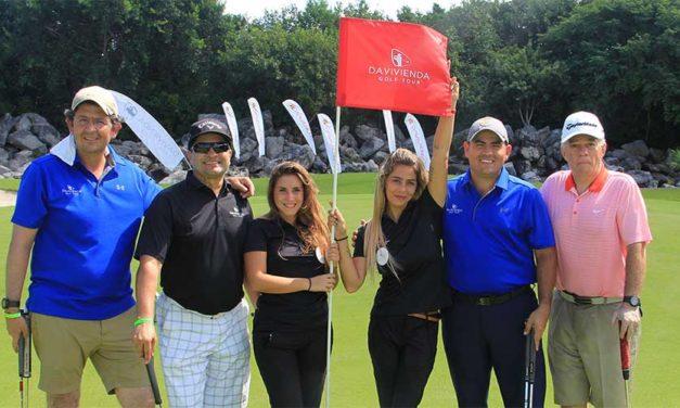 ¡Todo un éxito! El Davivienda Golf Tour cerró su temporada 2018 por todo lo alto en la Riviera Maya