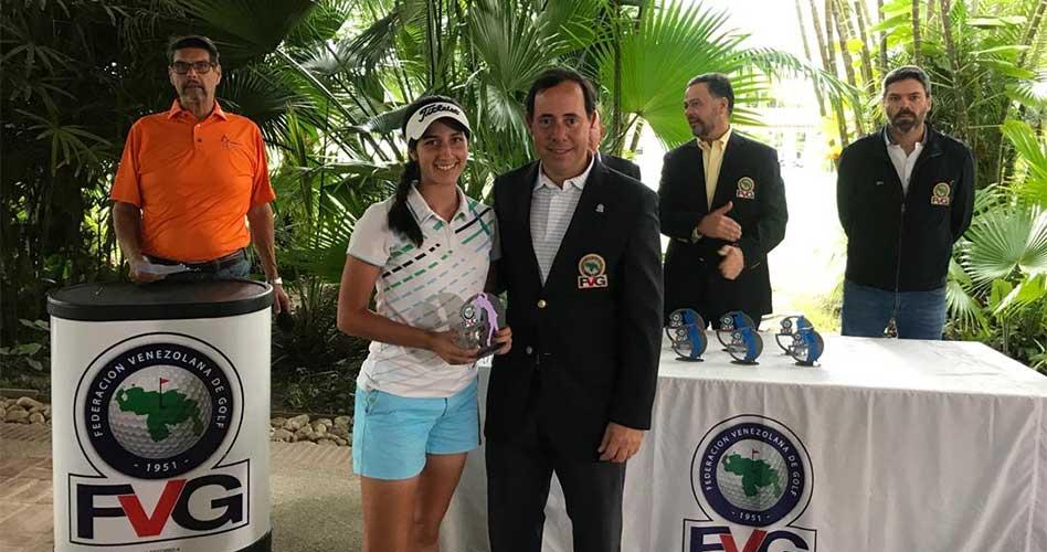 Vanessa Gilly se impuso en Torneo Amateur de FVG