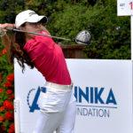 Cristina Ochoa sigue al frente del Annika Invitational a falta de una ronda